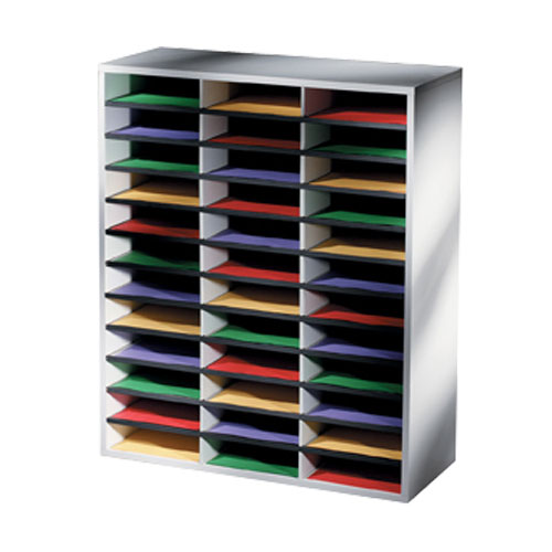 LITERATURE ORGANISER :: FELLOWES 36 COMPARTMENT